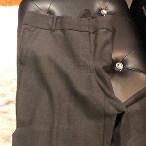 Loft Julie pant dark gray